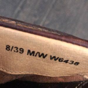 Born Shoes - Born leather slip on mule